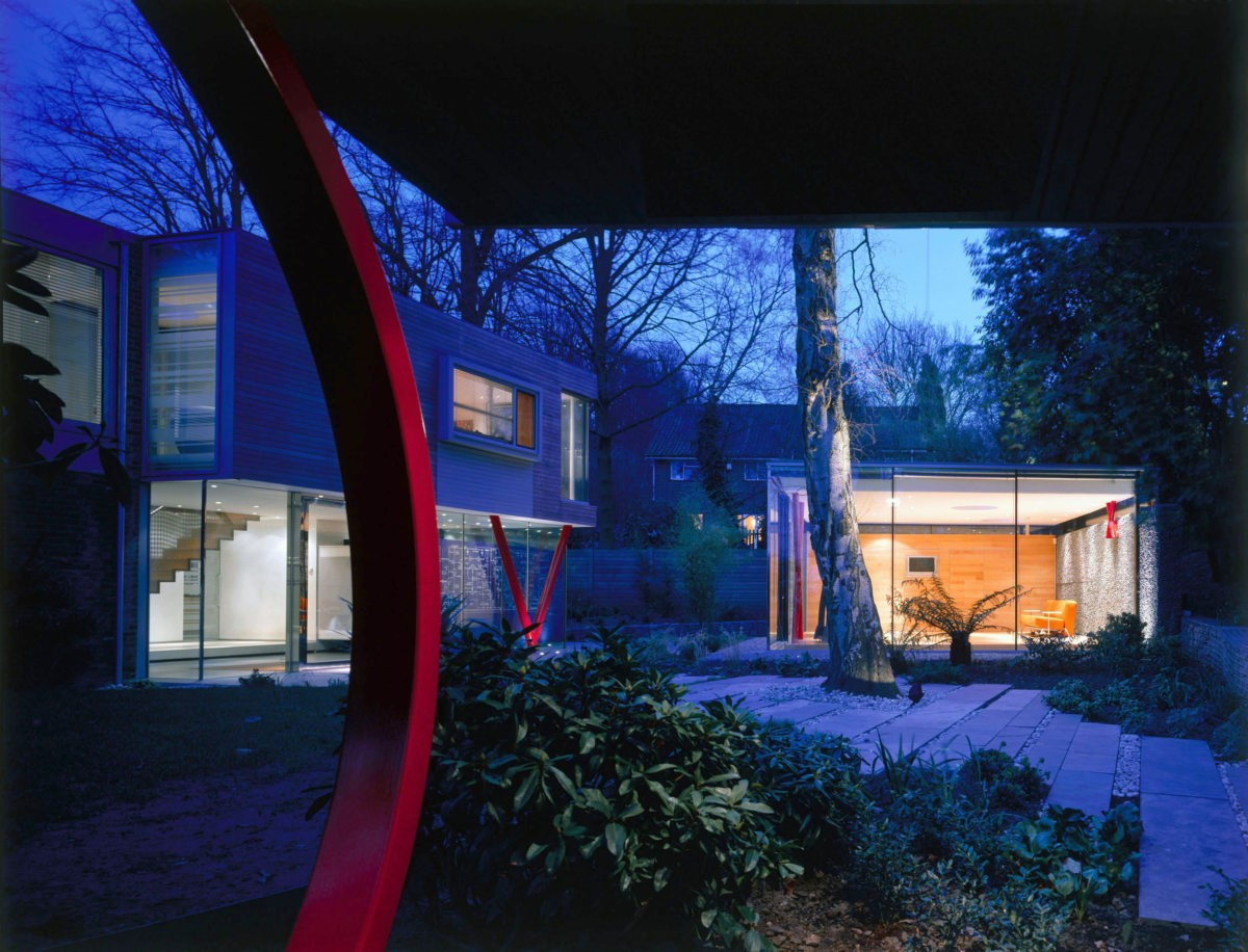 VXO House  a 1960s family house renovated by Alison Brooks in Hampstead, UK