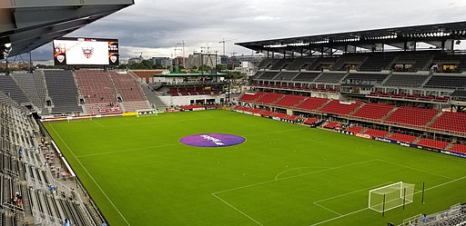 Audi Field in Washington, DC
