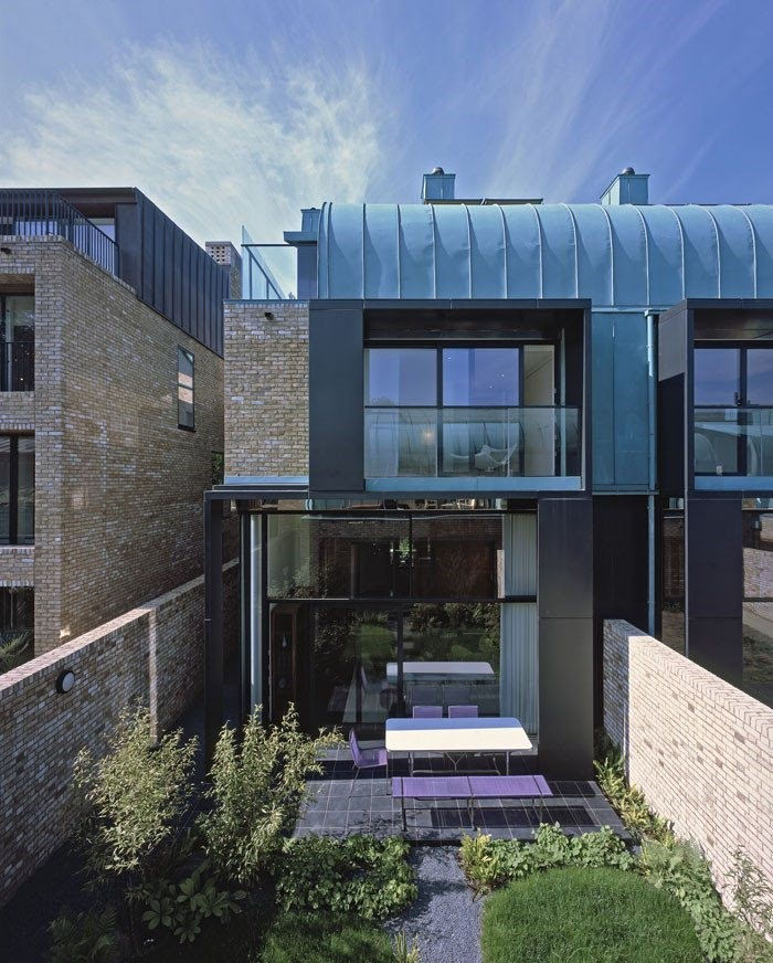 Sky Villas at Accordia Brass Building in Cambridge, UK, designed by Alison Brooks