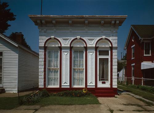 Historic Shotgun style John Eckert House, Madison, Indiana