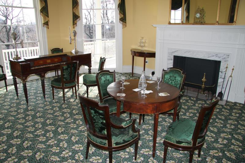 Parlor in the Hamilton Grange National Memorial
