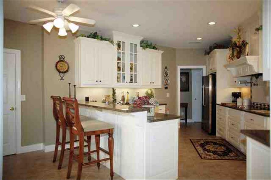 small kitchen with big kitchen feel house plan 109 1112 - Big Kitchen House Plans