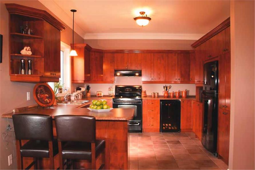 Kitchen in 1,432-sq.-ft. House Plan 126-1771