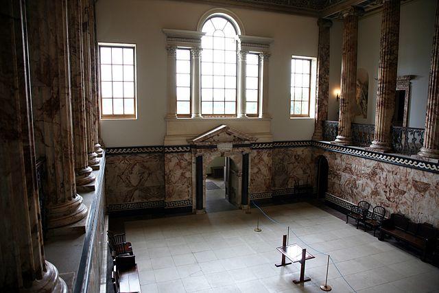 Holkham Hall in Norfolk, UK