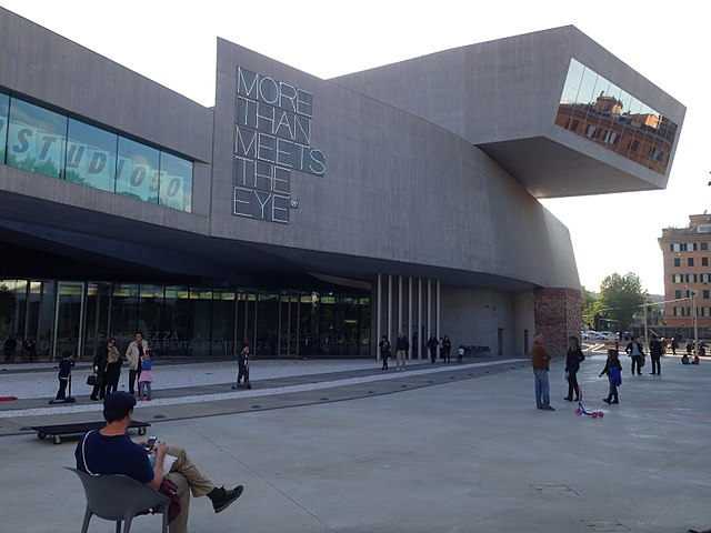 MAXXI Museum of Contemporary Art and Architecture in Rome