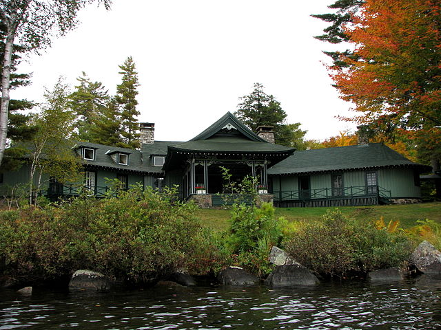 Pine Tree Point Lodge, Adirondacks, New York