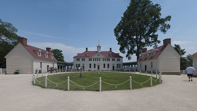 Western approach to Mount Vernon Estate