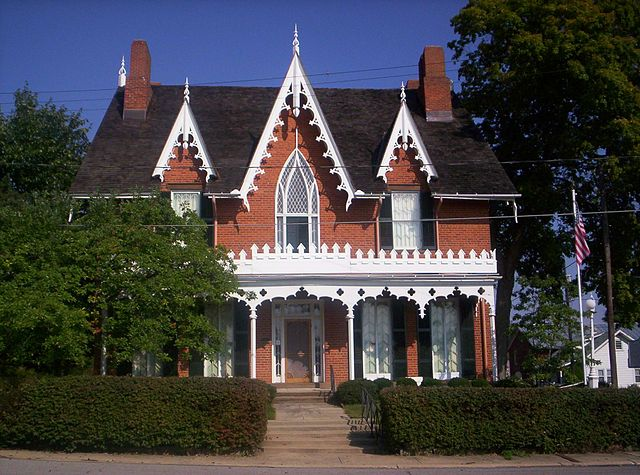 Oak Hill Cottage and Museum, in Mansfield, Ohio