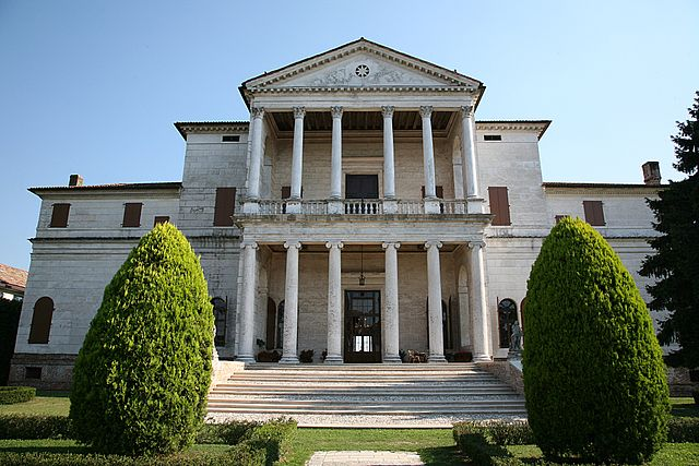 Villa Cornaro in Italy, designed by Andrea Palladio