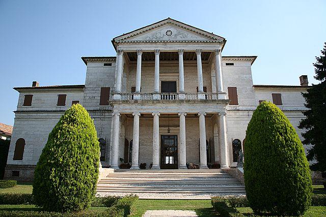 Villa Cornaro in Italy, designed by Andrea Palladio