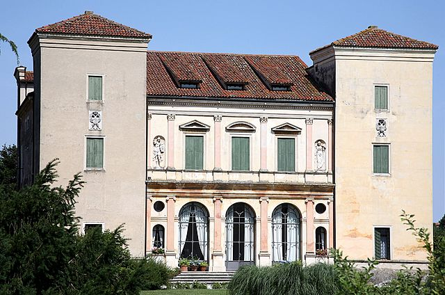 Villa Trissino (Cricoli, Italy), a fine example of Palladian architecture