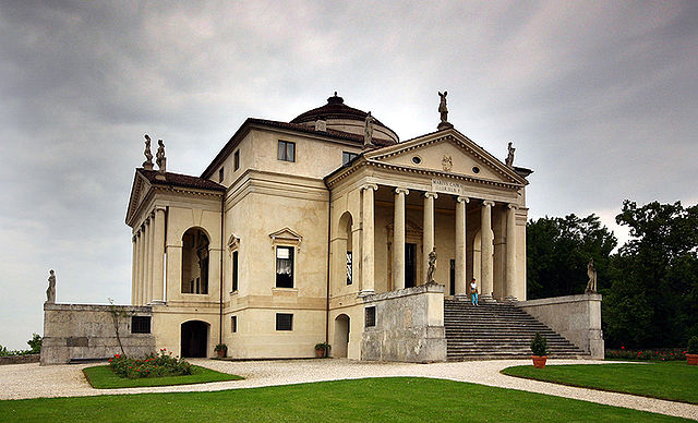 Villa Rotonda, or Almerico, designed by Andrea Palladio