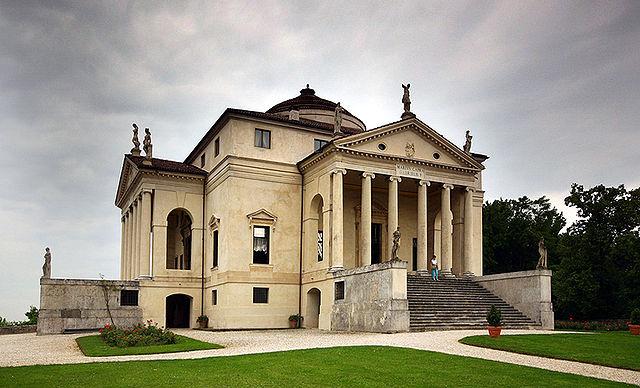 Villa Rotonda, or Almerico, designed by Andrea Palladio