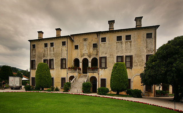 Villa Godi, designed by Andrea Palladio and completed in 1542
