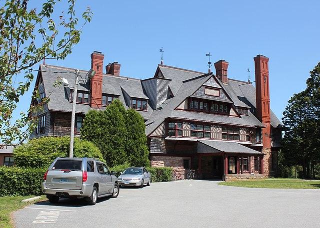 Watts-Sherman House in Newport, Rhode Island