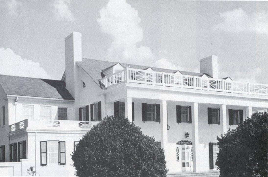 Auburn University President's House