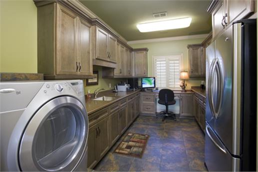 Laundry Room in House Plan #153-1904