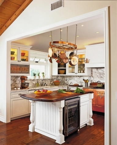Kitchen in renovated 1,200-sq.-ft. 1940 Cottage-style home