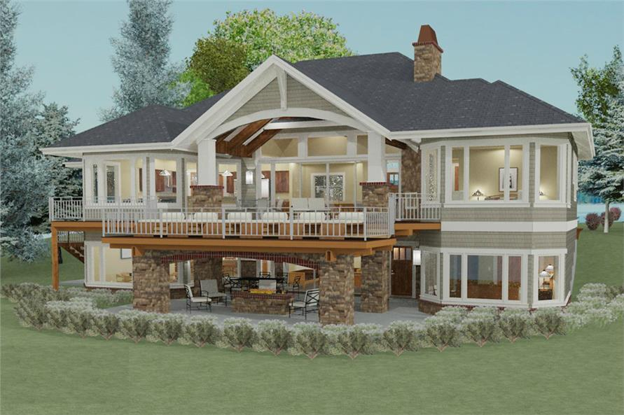Enjoy endless vacation time with a beachfront house plan for 1010 family plan