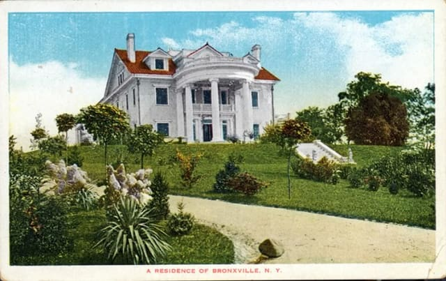 Kennedy family mansion in Bronxville, NY, demolished in 1953