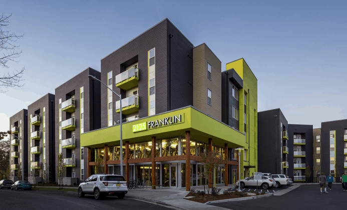 2125 Franklin, a Eugene, OR, student housing project