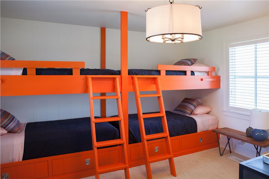 Practical, space-saving, colorful bunk beds