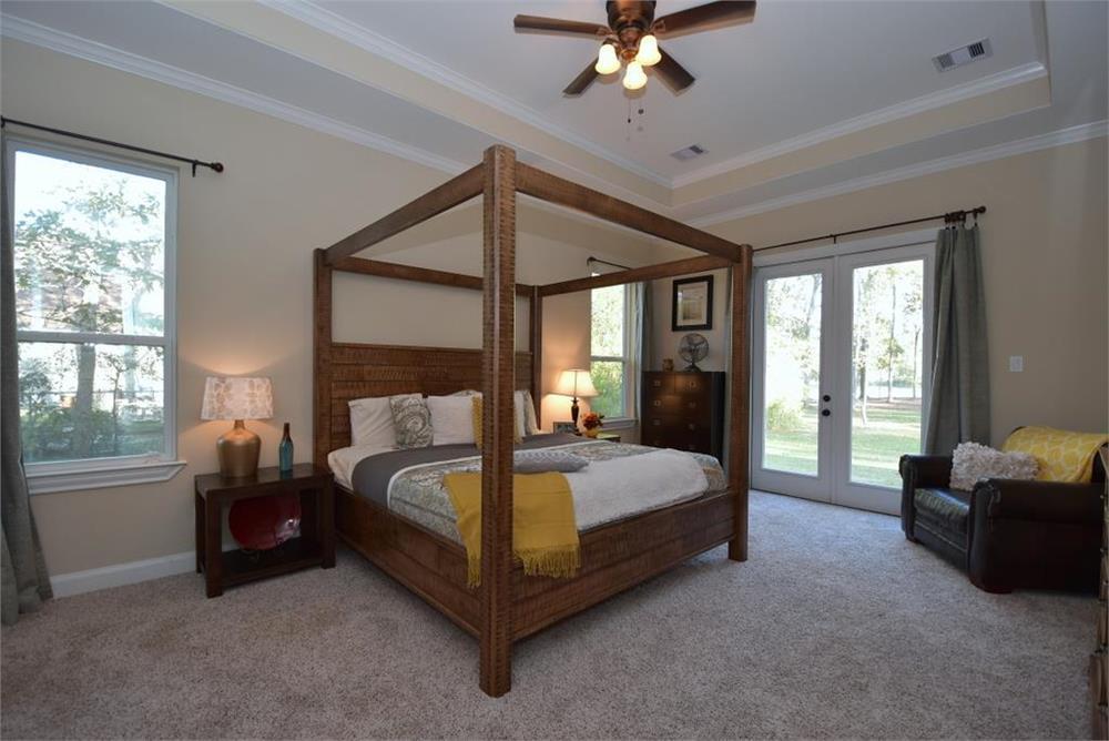 Roomy bedroom in home plan #106-1274