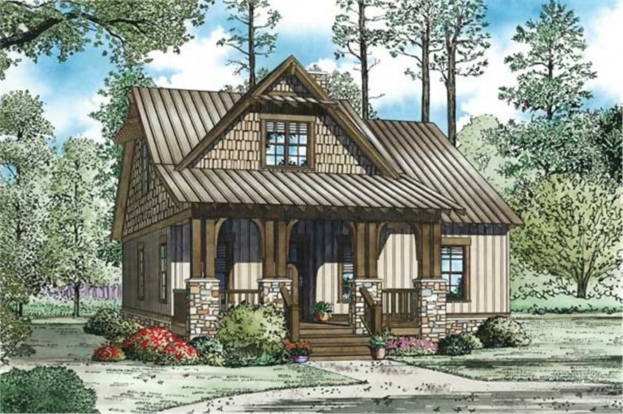 Narrow-lot home with wood siding that's similar to a shotgun house