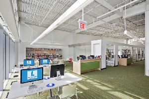 Teen space in new Dorothy L. Height/Benning Library, Washington, DC