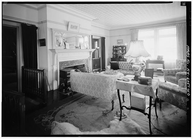 Drawing room in Teddy Roosevelt's Sagamore Hill home
