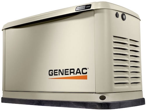 Home standby generator that will run just about everything in the home until utility electricity returns