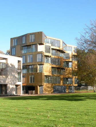 Accordia Brass Building in Cambridge, UK