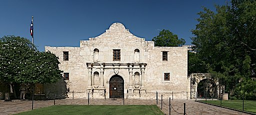 The Alamo Mission in Texas