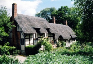 Anne Hathaway's Tudor cottage.