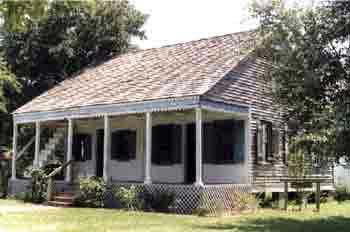 Aurelie Bernard House - Early Acadian Style