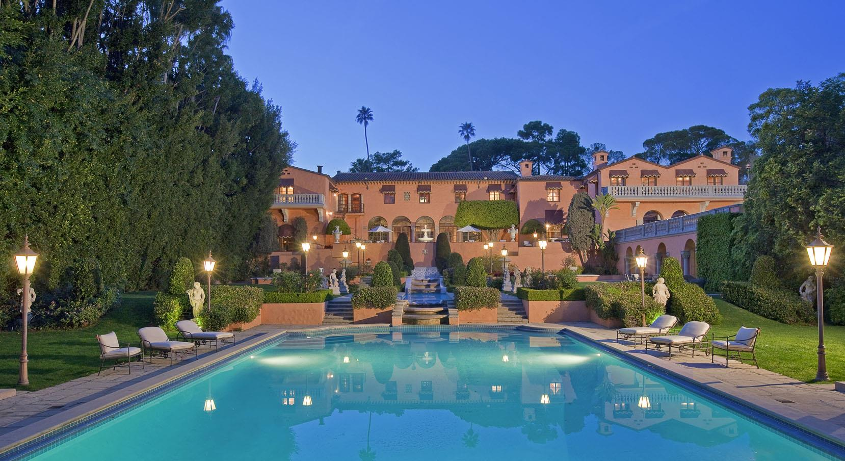 Pool at Beverly House