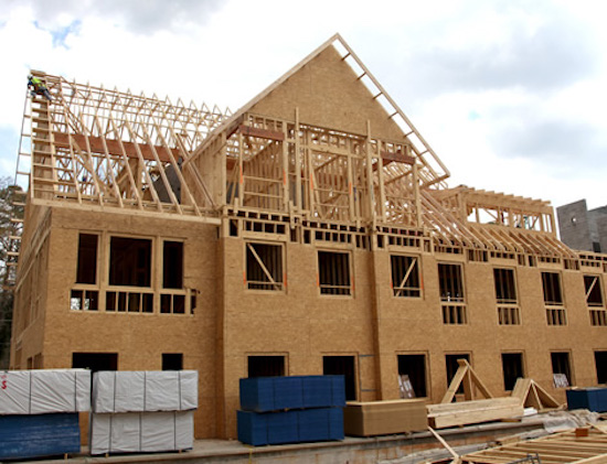 top 5 exterior wall sheathing options for new home builds