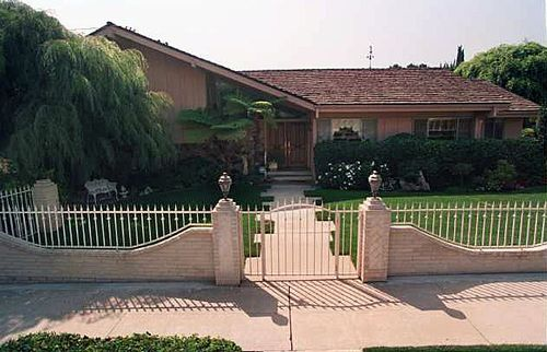Original Brady Bunch home - a split level house plan.
