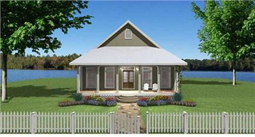 home Bungalow style house plan #123-1071