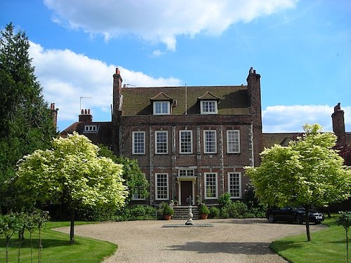 Byfleet Manor House, which stands in as the Dower House in Downton Abbey