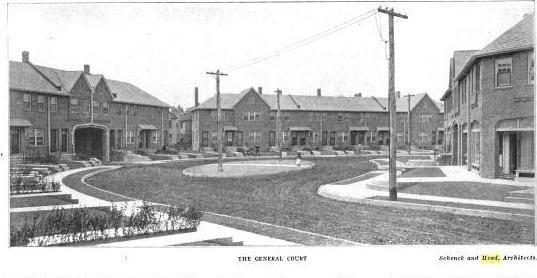Housing development in Bridgeport, CT