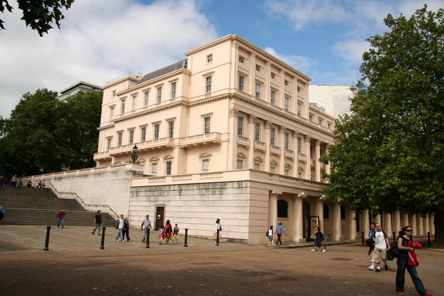 Carlton House Terrace, built between 1827 and 1832