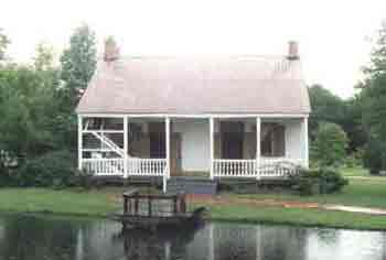 Castille Home - Early Acadian Home