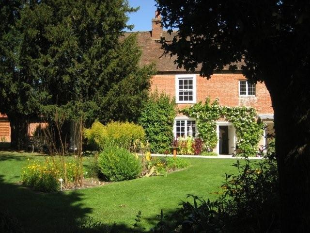 Jane Austen's Tudor-inspred home.