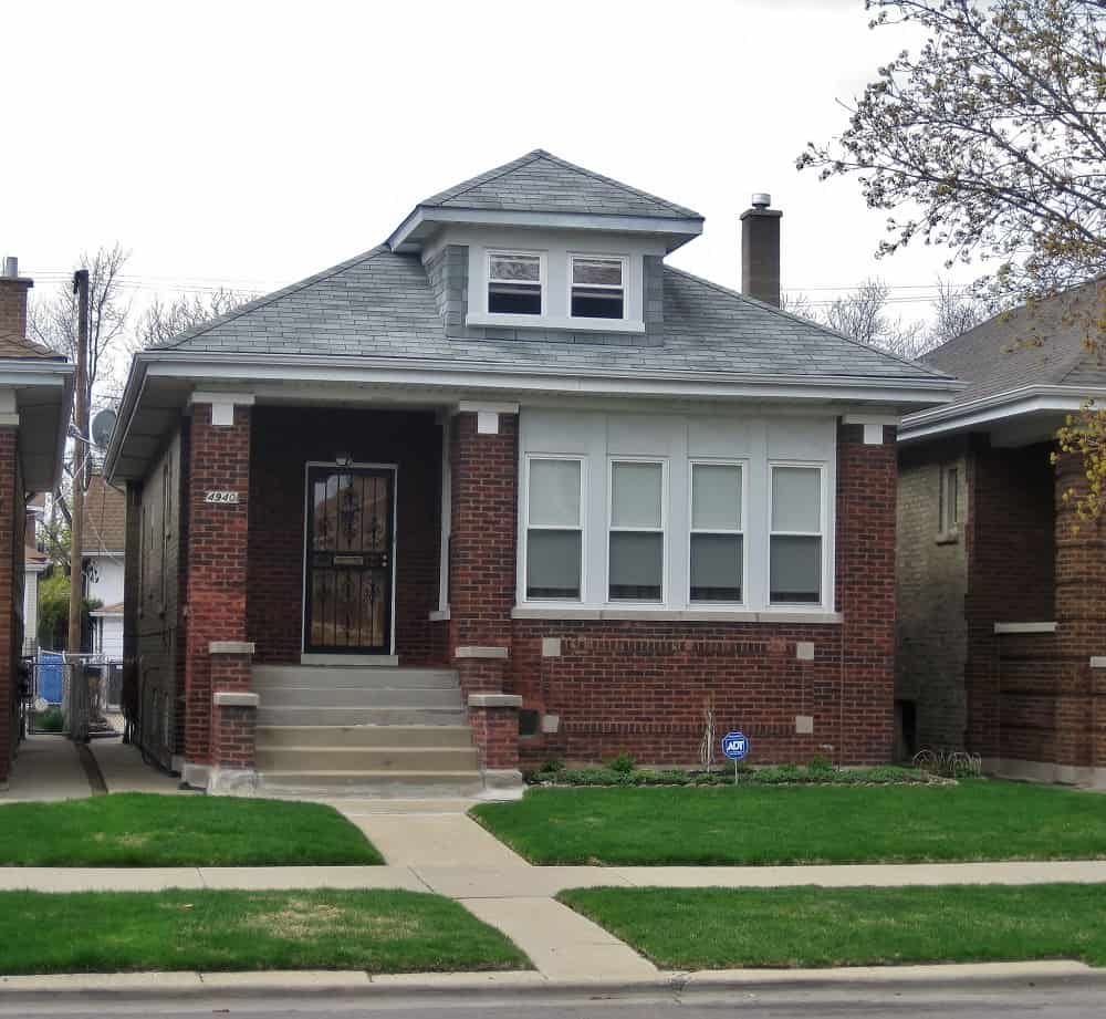Example of a Chicago Bungalow from Historic District
