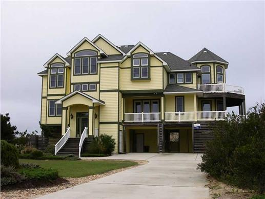 Beachfront home with six bedrooms.