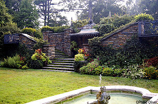 Dumbarton Oaks fountain.