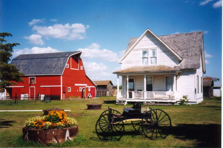Farmhouse in Canada