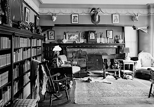 Library in Teddy Roosevelt's Sagamore Hill
