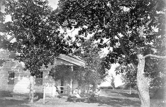 Oliver Kelley Fram in Sherburne County, MN
